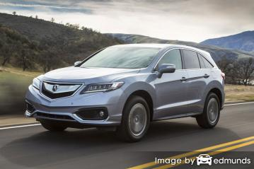 Insurance rates Acura RDX in Greensboro