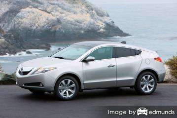 Discount Acura ZDX insurance