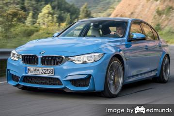 Insurance rates BMW M3 in Greensboro