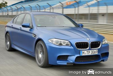 Insurance quote for BMW M5 in Greensboro