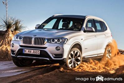 Insurance quote for BMW X3 in Greensboro