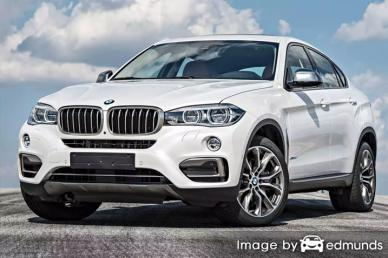 Insurance quote for BMW X6 in Greensboro