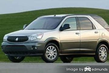 Insurance rates Buick Rendezvous in Greensboro