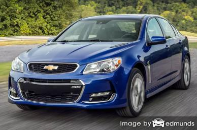 Insurance quote for Chevy SS in Greensboro