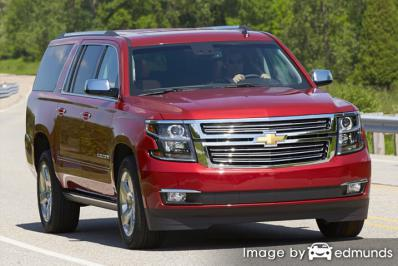 Insurance rates Chevy Suburban in Greensboro