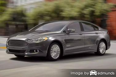 Insurance quote for Ford Fusion Hybrid in Greensboro
