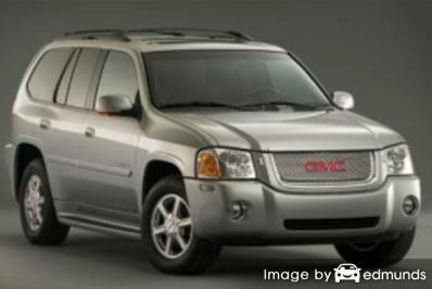 Insurance rates GMC Envoy in Greensboro