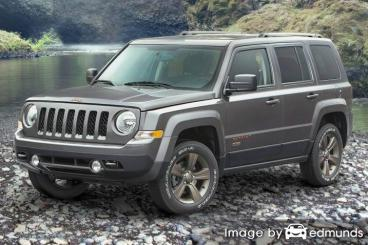 Insurance rates Jeep Patriot in Greensboro