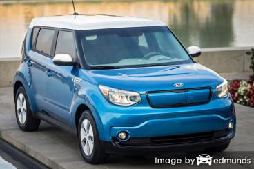Insurance quote for Kia Soul EV in Greensboro