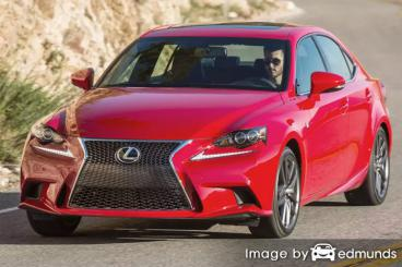 Insurance quote for Lexus IS 200t in Greensboro