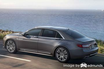 Insurance quote for Lincoln Continental in Greensboro