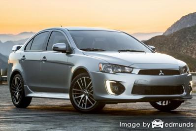 Insurance quote for Mitsubishi Lancer in Greensboro
