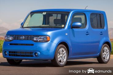 Insurance quote for Nissan cube in Greensboro