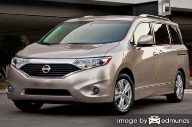 Insurance rates Nissan Quest in Greensboro