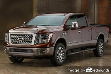 Insurance rates Nissan Titan in Greensboro