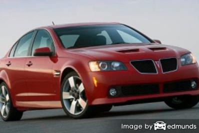 Insurance quote for Pontiac G8 in Greensboro