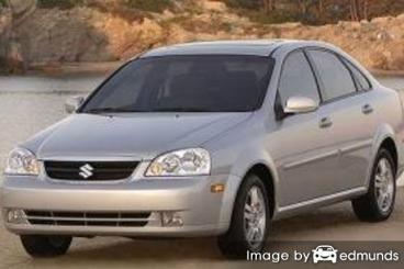 Insurance quote for Suzuki Forenza in Greensboro