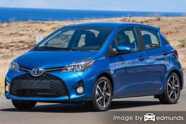 Insurance quote for Toyota Yaris in Greensboro